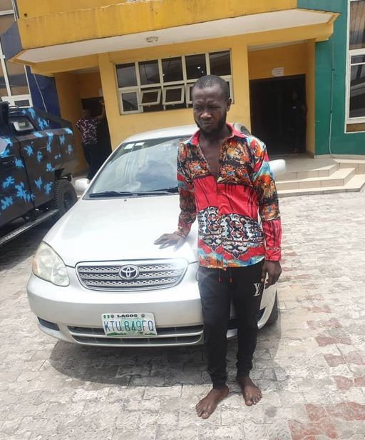 Rivers Police Arrest Notorious Car Snatcher Who Specialises In Robbing Bolt/Uber Drivers
