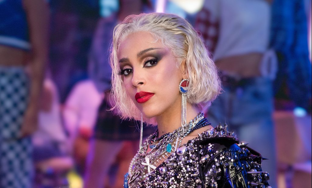 Doja Cat on Becoming 'Heavy Metal Sandy' for Ad's 'Grease' Song Remake