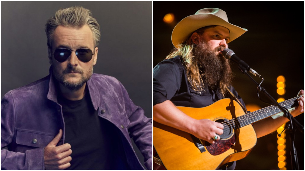 Eric Church, Chris Stapleton Top CMA Awards Nominations With Five Each