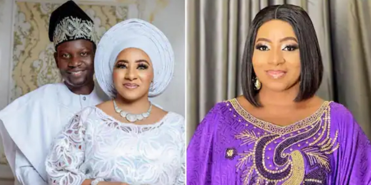 Actress Mide Martins and her husband, Actor Afeez Owo celebrate 17th marriage anniversary
