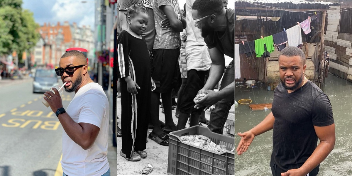 """""""God told me to go to Nigeria and free people from poverty"""" — Actor, Williams Uchemba reveals"""