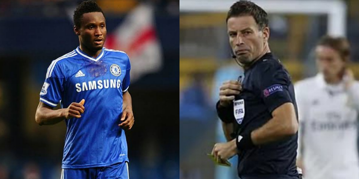 """""""Mikel Obi almost made me quit refereeing"""" – Former EPL Referee, Mark Clattenburg"""