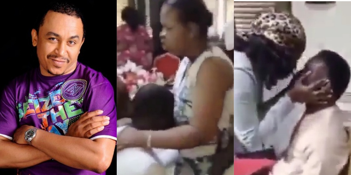"""""""Joseph didn't pray, he ran"""" — Daddy Freeze reacts to video of women praying for cheating husbands to change (Video)"""