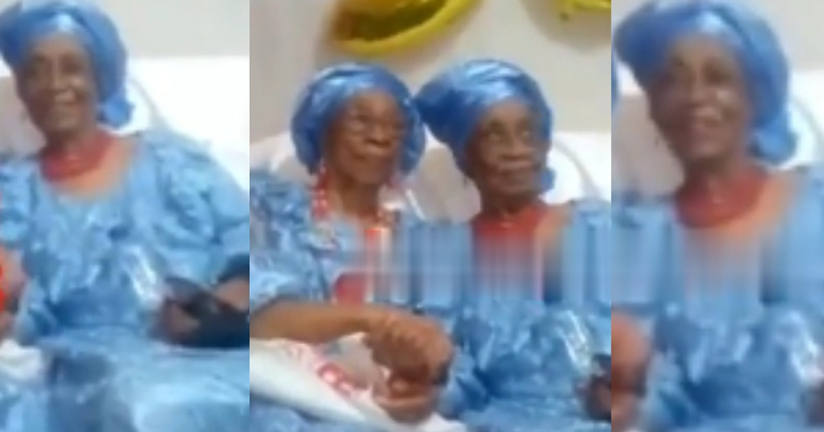 Bestfriends of 80years pose together as one of them clocks 90