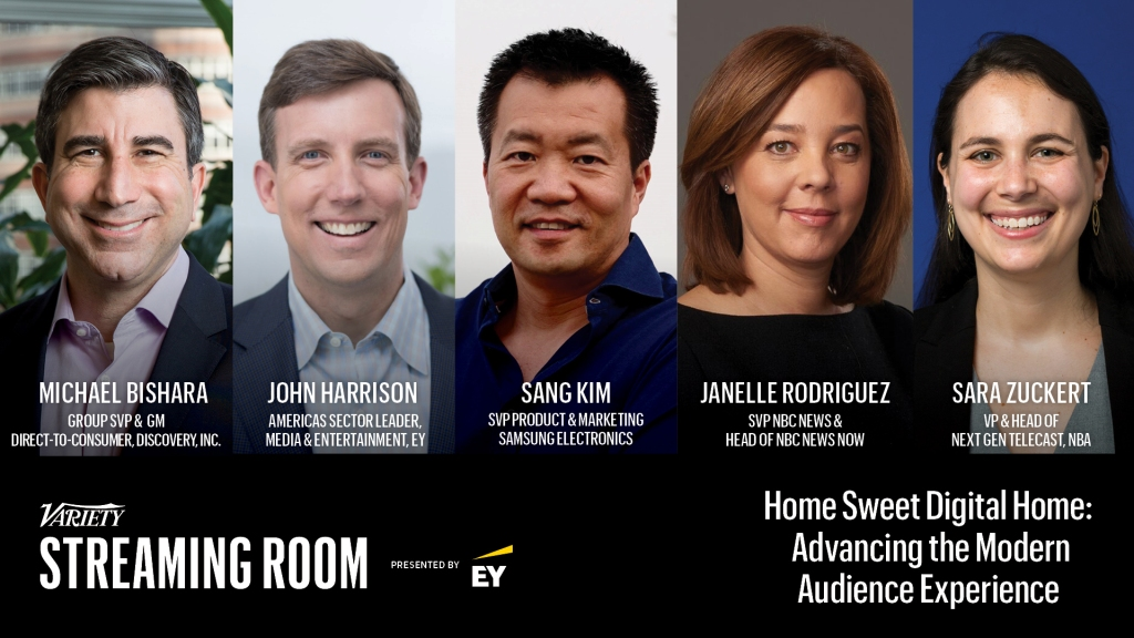 Modern Audience Panel Oct. 6 in the Variety Streaming Room