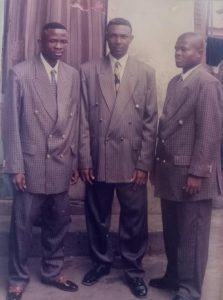 Nigerian Pastor Shares Throw Back Photo of Him and His Friends Wearing 'Happening and Trending Suits'