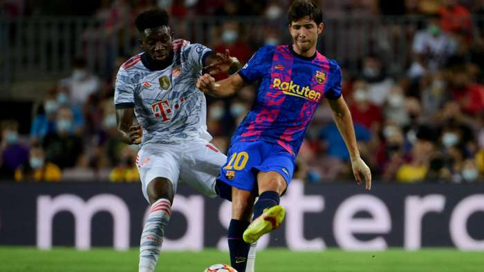 Pique 'Hurt' By Barcelona Fan Treatment Of Sergi Roberto In Champions League Defeat To Bayern Munich