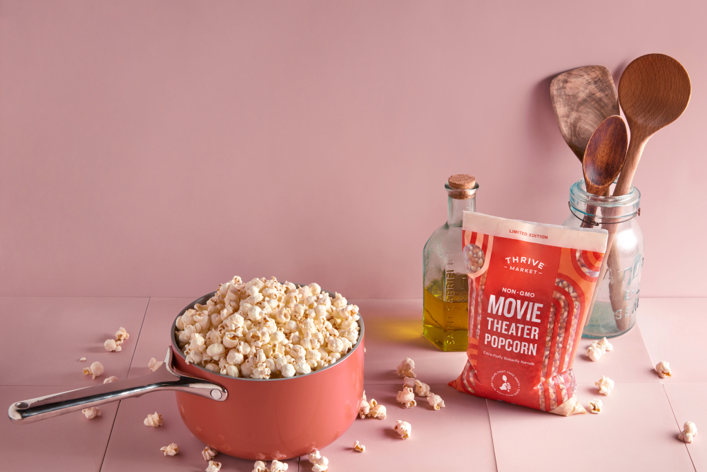 Thrive Market Launches Movie Theater Popcorn to Fight Food Waste