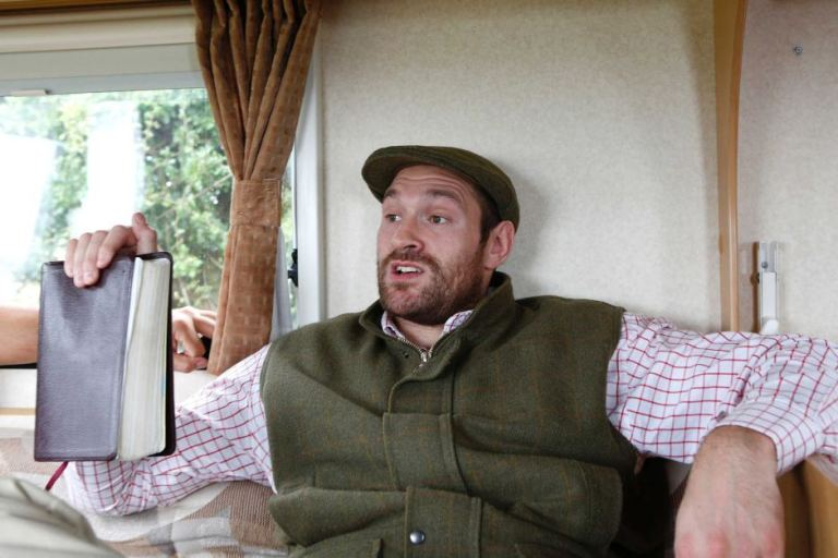 Why My Bible Is My Biggest Asset -Tyson Fury