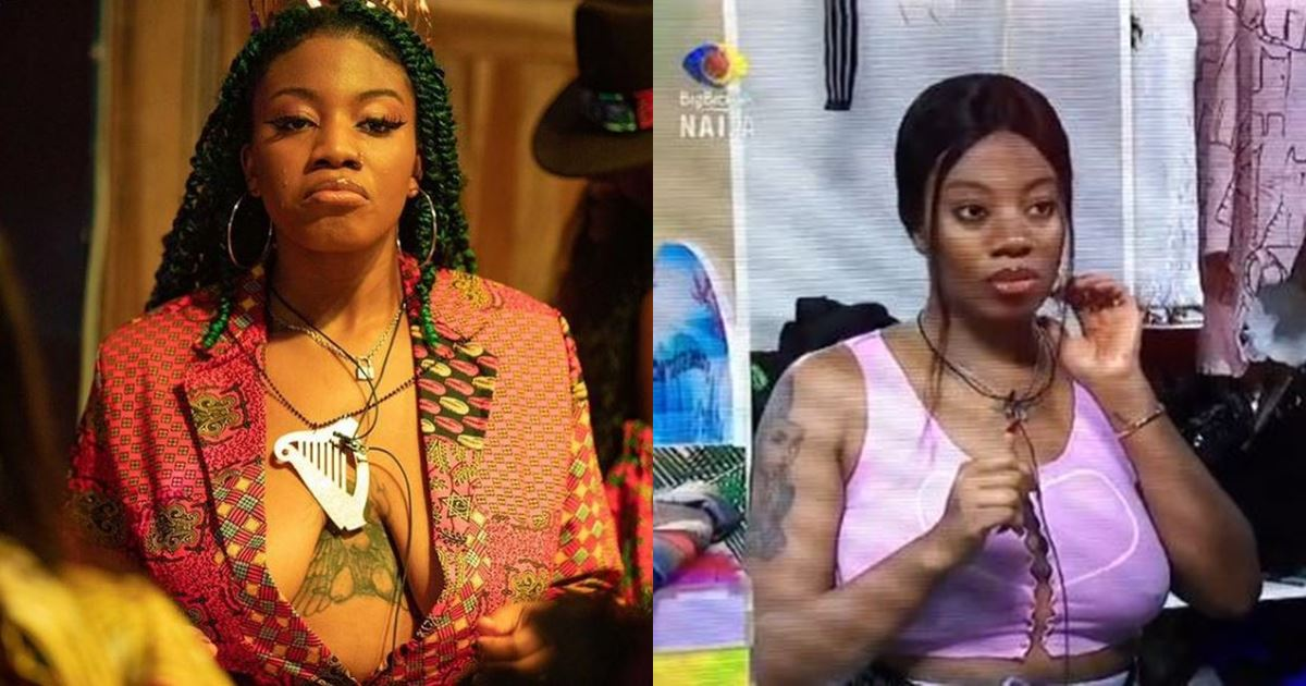 """#BBNaija: """"Three people will leave on Sunday and I'm inclusive"""""""