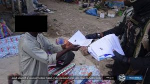 ISWAP Distributes Fliers In Borno Threatens Residents Giving Information To Army (Photo)