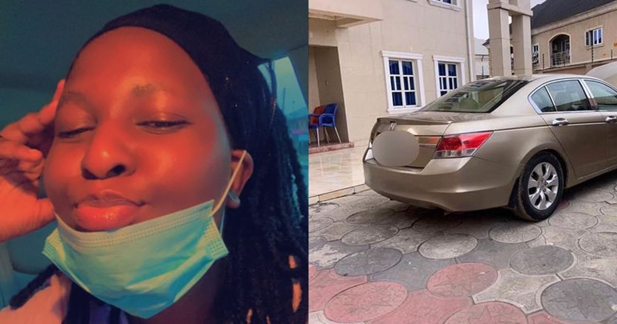 Lady receives a car gift from her boyfriend after contracting COVID-19