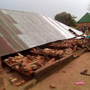 Photos Of Church Building Which Collapsed During Service Killing 2 People In Taraba