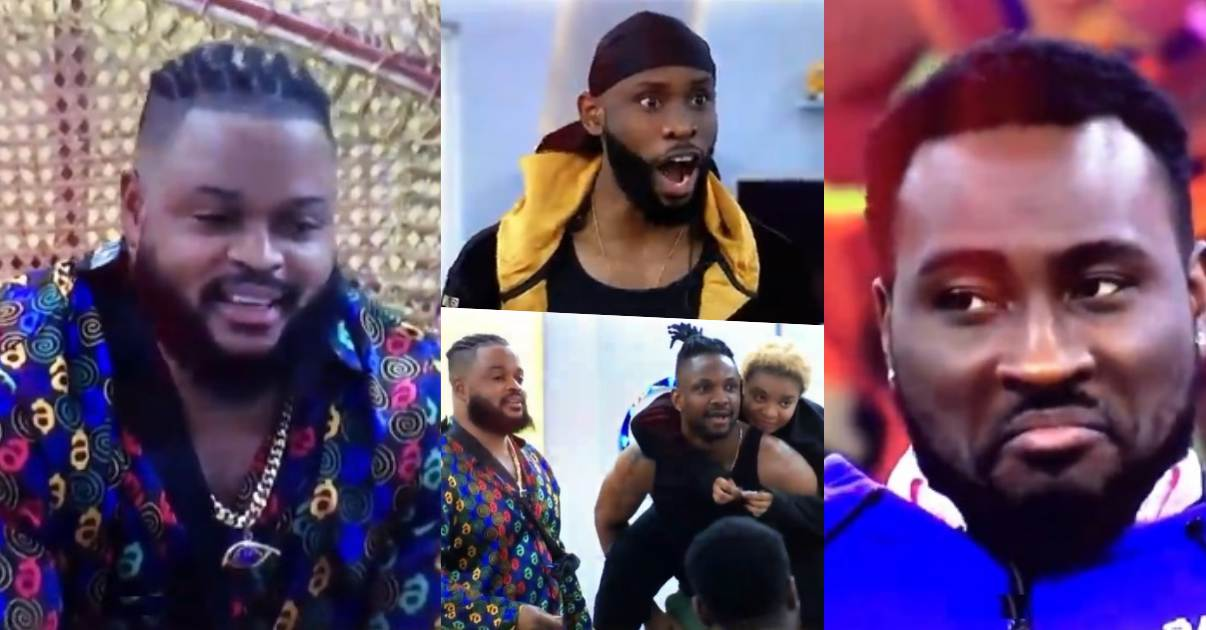 WhiteMoney appreciates housemates, shares gift as HoH tenure comes to an end (Video)