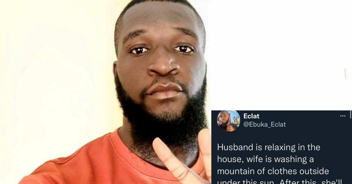 Man sparks debate on heavy chores wives face over the weekend while husbands get to relax