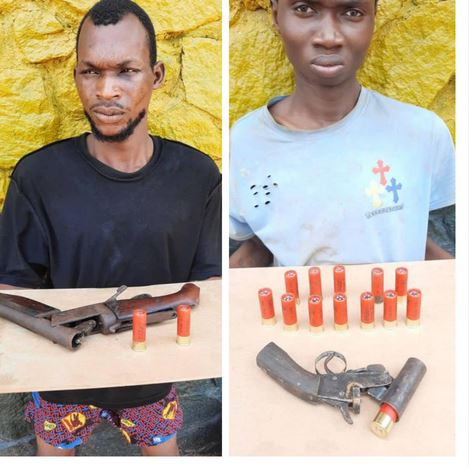 Two Suspected Robbers, Cultists Arrested In Delta (Photos)