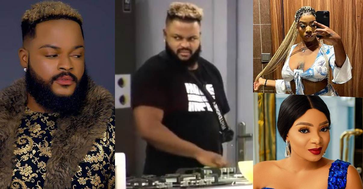 WhiteMoney's epic reaction as Angel and Queen sing Tiwa Savage's Koroba song (Video)
