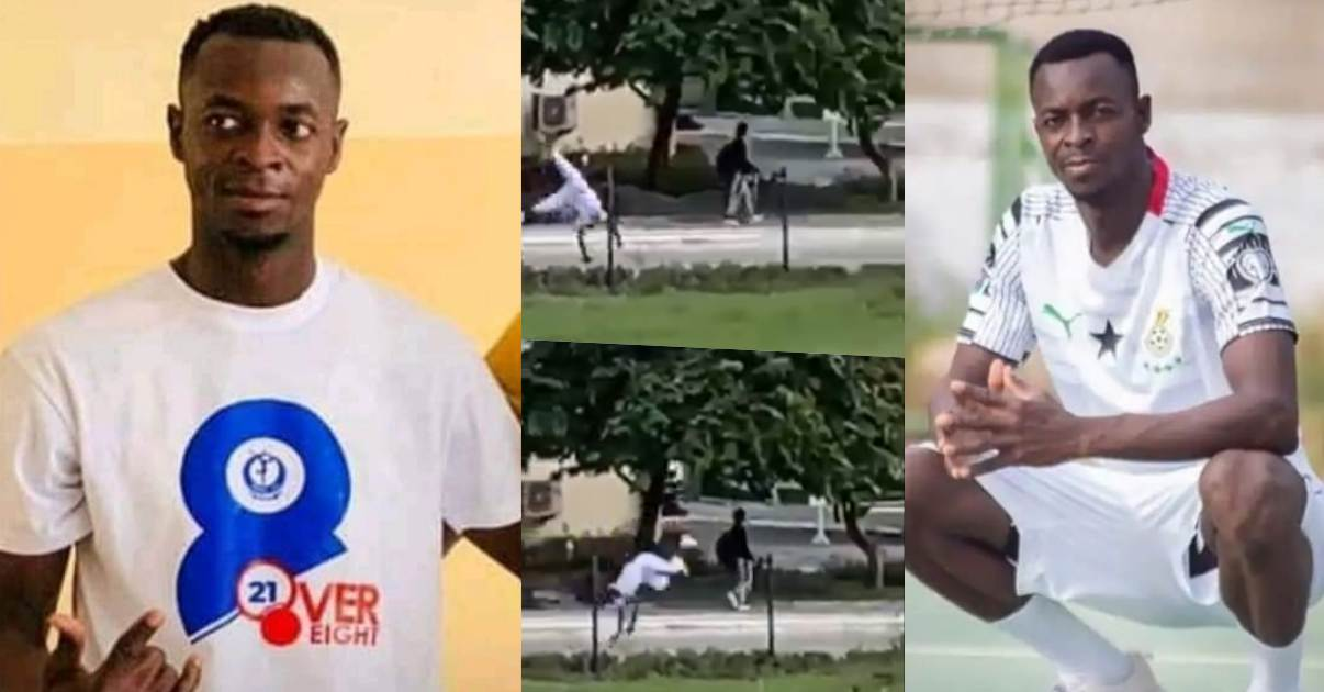 Final year student summersaults to his death while celebrating after final exams (Video)
