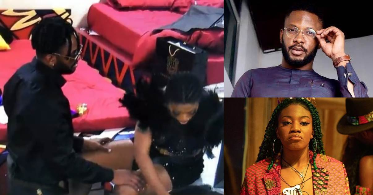 Angel snubs Cross as he begs on his knees ahead of eviction (Video)