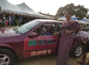 Nigerians React As Winner Of Cross River Local Govt Beauty pageant Receives Star Prize Of 'New Car'
