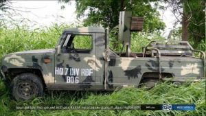 Boko Haram Displays Custom-Made Innoson Company's Military Vehicle, Ammunition Captured From Nigerian Soldiers (Photos)