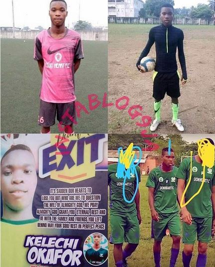 Footballer Dies During Morning Training On The Day He Was Meant To Leave Nigeria For Europe