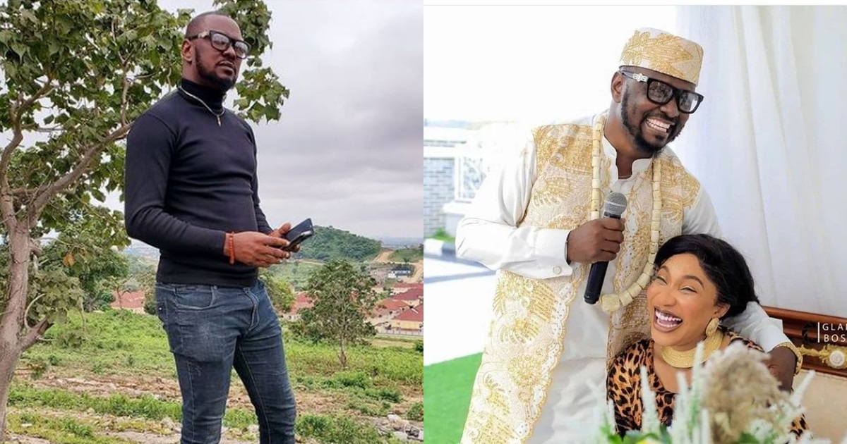 Tonto Dikeh's ex, Prince Kpokpogri allegedly arrested by DSS over blackmail and extortion