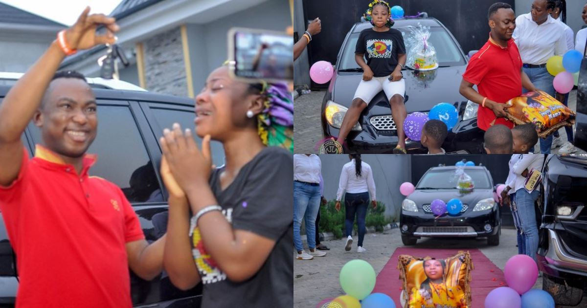 Pastor gifts wife a car on her birthday, narrates how ex-fiancee called off their wedding 6 days to the fixed date