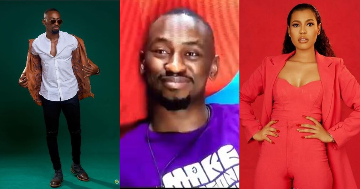 Saga begs Biggie for a photo of Nini if he survives eviction today (Video)