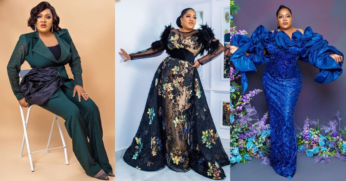 Actress, Toyin Abraham turns a year older today