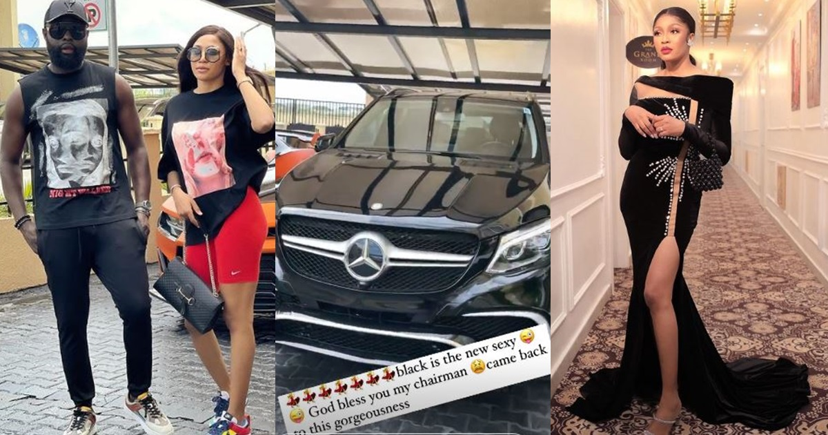 Celebrity designer, Yomi Casual gifts wife a new Mercedez-Benz car